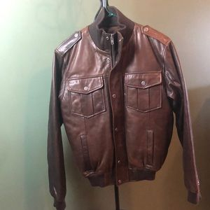 NWOT Wilda Genuine Leather Jacket
